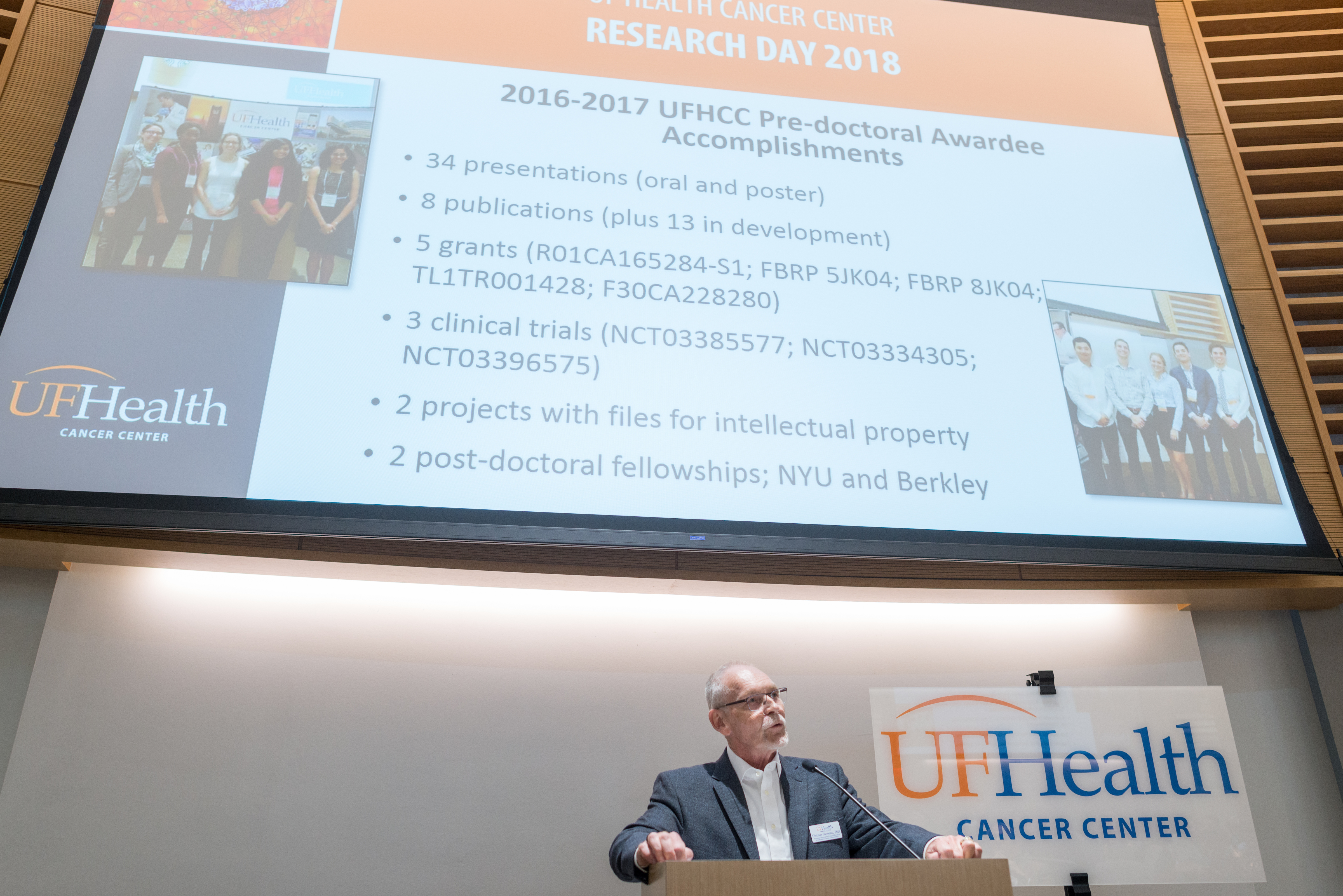 Research Day 2018 » Cancer Center » UF Health Cancer Center