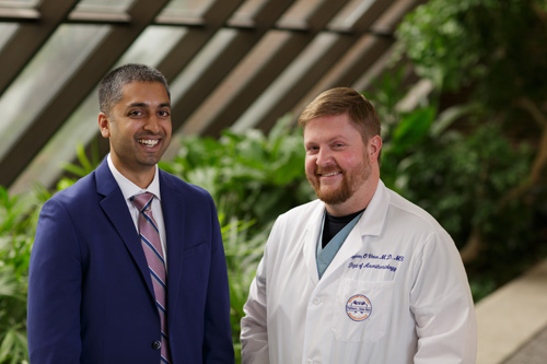 Dr. Ajay Antony and Dr. Stephen Vose