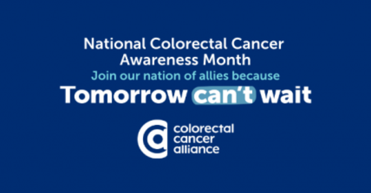 National Colorectal Cancer Awarenss Month