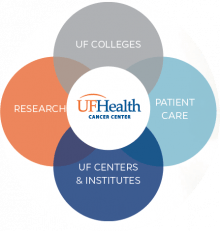 Intersection of colleges, patient care, centers & institutes